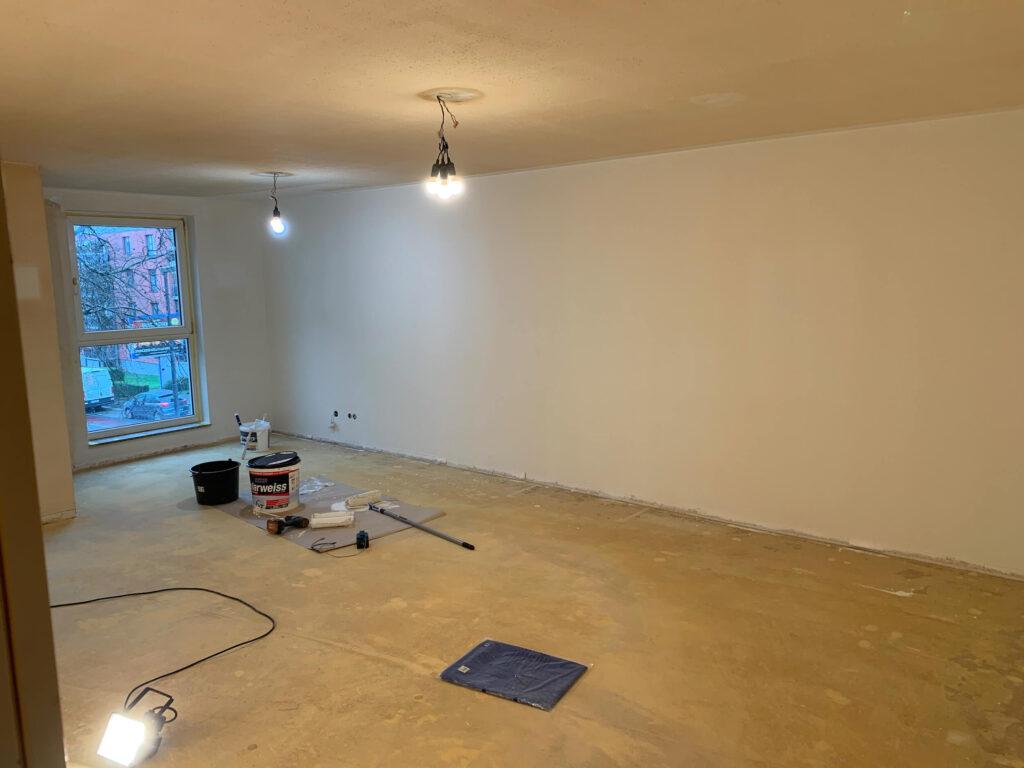 Renovierung Vorherbild Vorher Bild Wohnraum Erdgeschoss