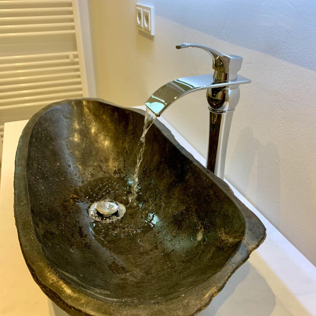 Renovierung Nachherbild Nachher Bild Waschbecken